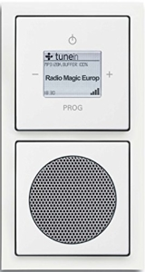 Busch-Jaeger Wlan Radio Komplettset weiß
