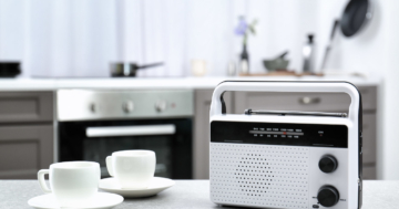Küchenradio als Standgerät